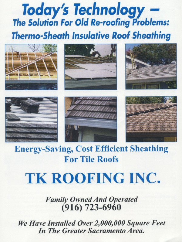 Energy Efficent Roof Systems Tk Roofing
